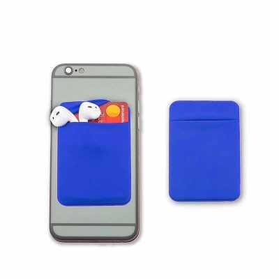 msn-brindes - Adesivo Porta Cartão de Lycra para Celular