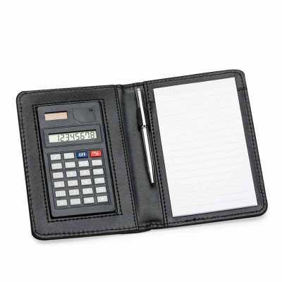 Bloco de anotações com calculadora - MSN Brindes