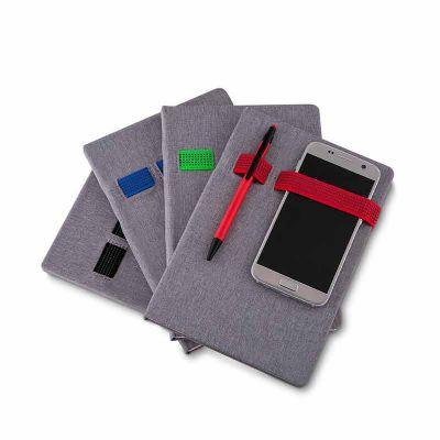 MSN Brindes - Cadernos de anotações com elástico