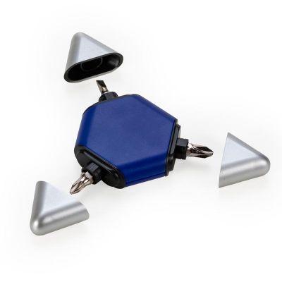 MSN Brindes - Kit ferramenta triangular plástico com 3 peças.