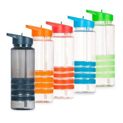 msn-brindes - Squeeze plástico 700ml com bico de canudo.