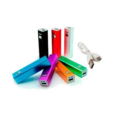 msn-brindes - Carregador portátil USB personalizado