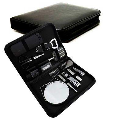 MSN Brindes - Kit manicure com 12 peças