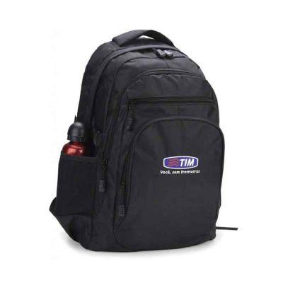 MSN Brindes - Mochila personalizada com porta notebook reforçadas em todas as costuras (sistema traveti), desenvolvida em 100% nylon, ótimo para presentear clientes...