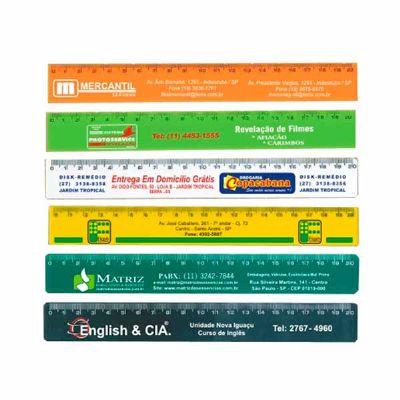 msn-brindes - Régua Plástica 20cm