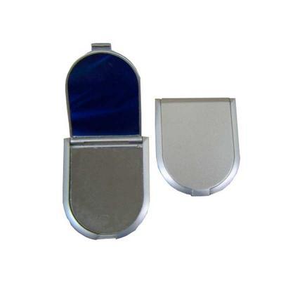 Espelho bolso duplo com aumento personalizado