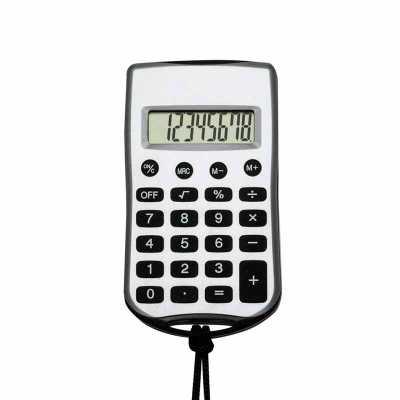 Calculadora com Cordão Personalizado - Cross Brindes