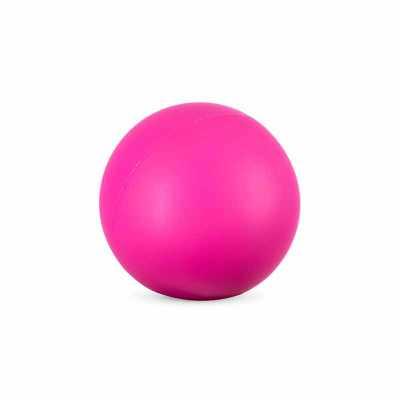 Bolinha anti stress emborrachada com caroço. Este produto simboliza a importância do autoexame da...