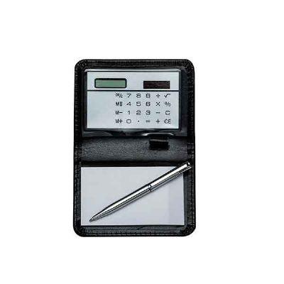 Cross Brindes - Bloco de anotações com calculadora
