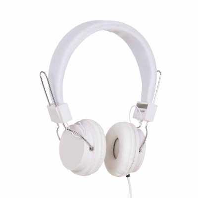 Cross Brindes - Headfone estéreo com microfone, material em plástico resistente com haste revestida de espuma e alças ajustáveis com fone giratório. Microfone acoplad...