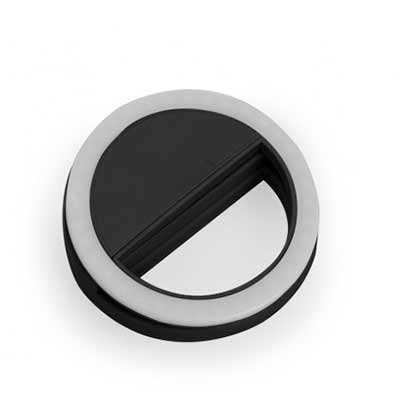 cross-brindes - Anel de iluminação para celular