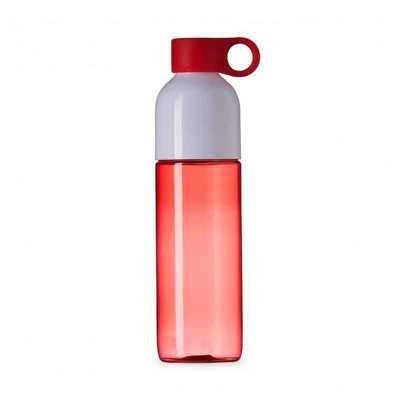 - Squeeze Plástico com Logo Personalizado 700ml com tampa de suporte anelar. Squeeze colorido, possui tampa rosqueável na cor branca; devido sua largura...