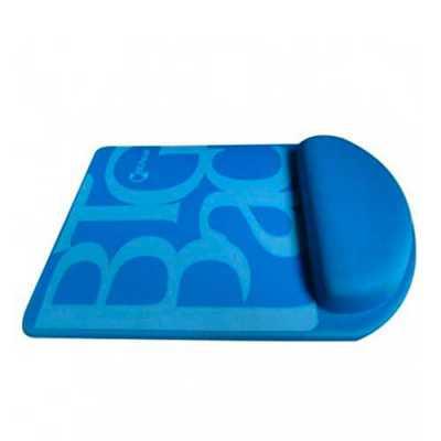Com apoio de punho para mouse. Este Mouse Pad Ergonômico previne lesões, como tendinite por exemp...