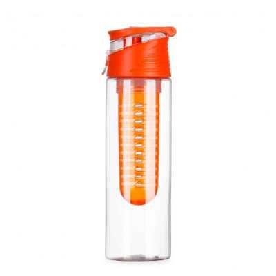 cross-brindes - Squeeze de Plástico Personalizado com Infusor