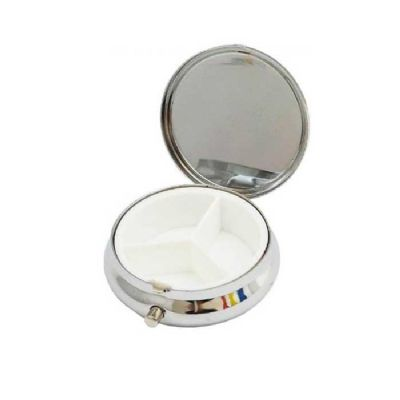 Soluções Brindes - Porta Comprimidos de Metal