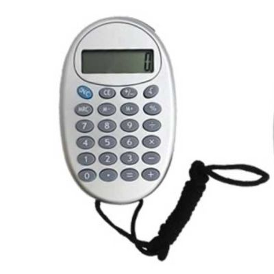 Soluções Brindes - Calculadora com cordão