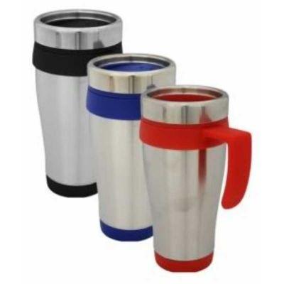 Soluções Brindes - Caneca de inox 400 ml