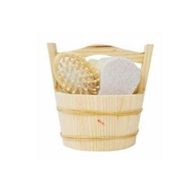 Soluções Brindes - Kit banho ecológico com 3 peças
