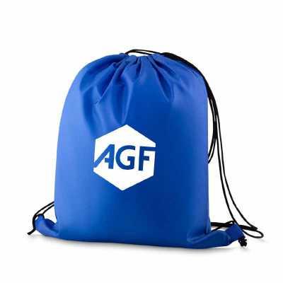 Mochila saco personalizada, fechamento por cordão. Diversas opções de materiais e cores. Customização: silk ou bordado. Mochilas promocionais personal...