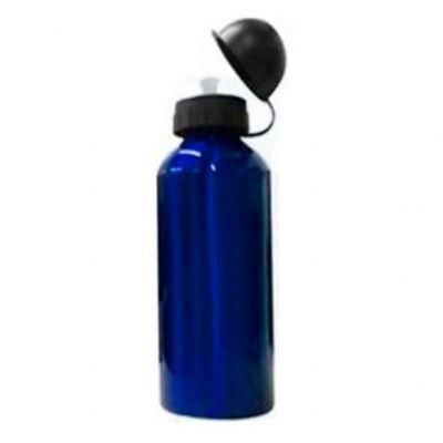 - Squeeze de inox 500ml com pintura metalizada, tampa de bico rosqueável (não é térmico).