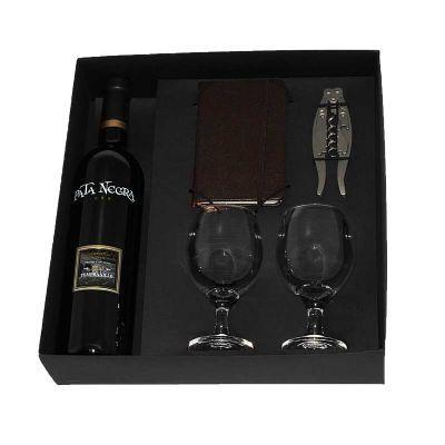design-promo - Kit vinho em caixa de papel duplex com vinho