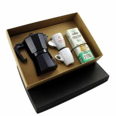 Kit Café personalizado em caixa de papel