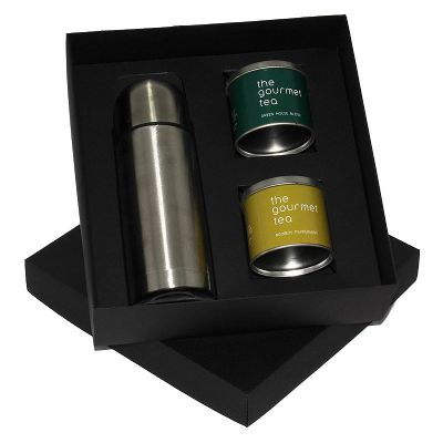 Kit chá com garrafa térmica - Design Promo