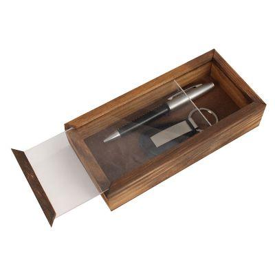 Kit escritório com caneta e chaveiro - Design Promo