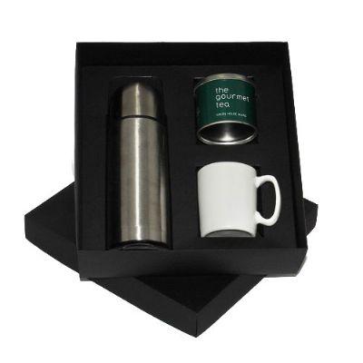 Kit garrafa térmica de 500 ml - Design Promo
