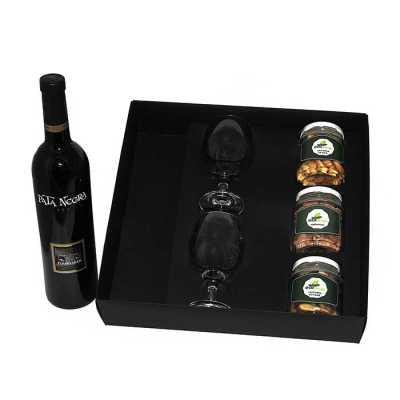 Kit vinho em caixa - Design Promo