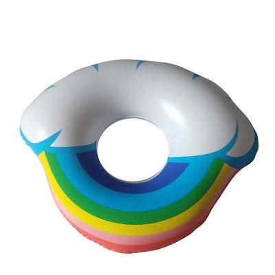 Porta copo arco-íris inflável