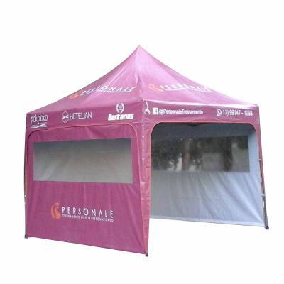 promotendas - Barraca de praia personalizada com janela transparente 3x3 sanfonada  em lona PVC totalmente impermeável, Semi Blackout para não esquentar com calor,...