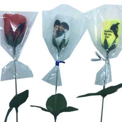 Brindes Drica - Flor personalizada