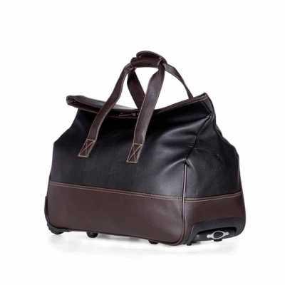 Bolsa de viagem sintético com rodinhas - Ateliê Brindes