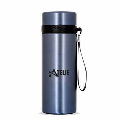 Garrafa Térmica Inox 590 ml com infusor