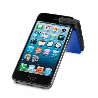 atelie-brindes - Suporte para celular com ponteira touch e limpador de tela