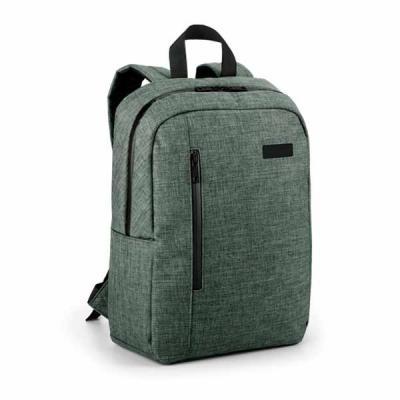 Mochila porta notebook confeccionada em poliéster  600 de alta densidade, contem compartimento forrado, com 2 divisórias almofadadas para notebook até... - Ateliê Brindes