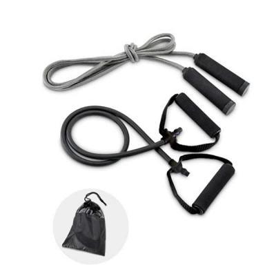 kit fitness corda e elástico