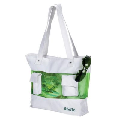 atelie-brindes - Sacola de praia personalizada em nylon