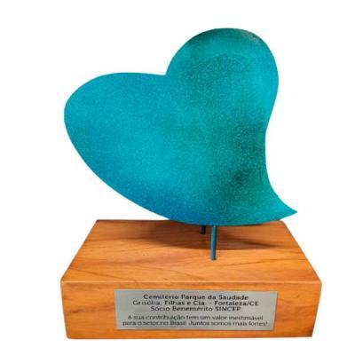 Troféu Coração Azul - frontal