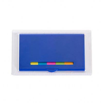 Splash7 Brindes - Kit sticky notes em plástico resistente