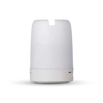 Caixa de Som Multimídia com Porta Caneta e Luminária - Splash7 Brindes