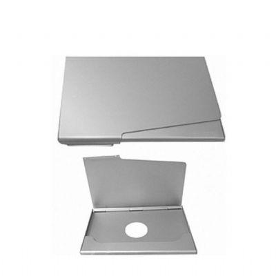 Splash7 Brindes - Porta-cartão alumínio