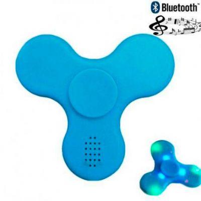 Spinner anti-stress plástico com Led e Bluetooth