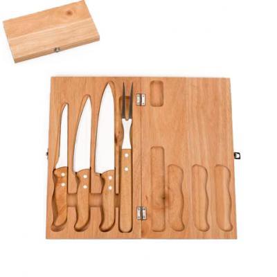Galeria de Ideias - Kit churrasco 4 peças