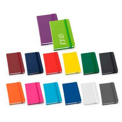 galeria-de-ideias - Bloco de anotações em sintético com capa dura.