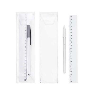 Galeria de Ideias - Kit caneta e régua