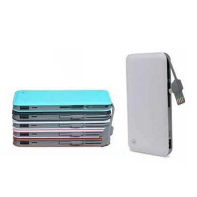 galeria-de-ideias - Bateria Kimaster com capacidade de 10.000 mAh. Peça compacta, leve com textura de couro e compatível com smartphones, iPhone, consoles de jogos portát...