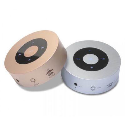 Galeria de Ideias - Mini caixa de som Bluetooth touch e wireless