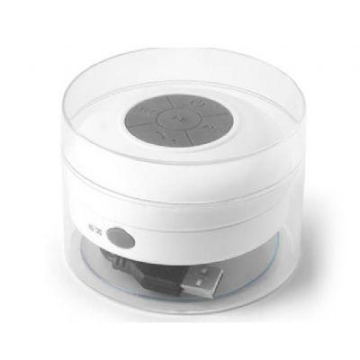 Galeria de Ideias - Caixa de som à prova de água em ABS com acabamento emborrachado